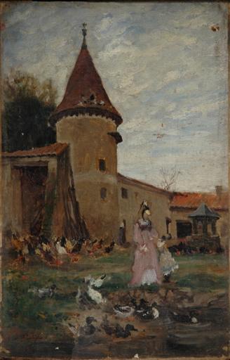 Pigeonnier du Château de Lassalle