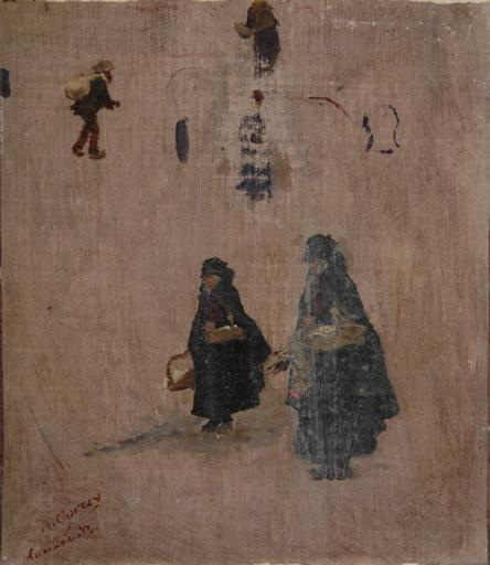Femmes du marché à Aurillac