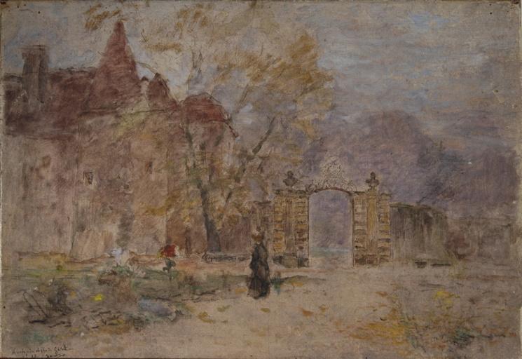 L'entrée de château de Gatellier_0