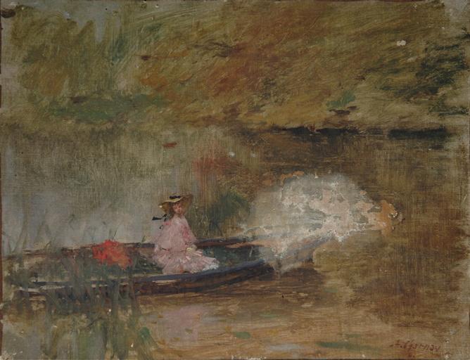 Barque à Château-Morand