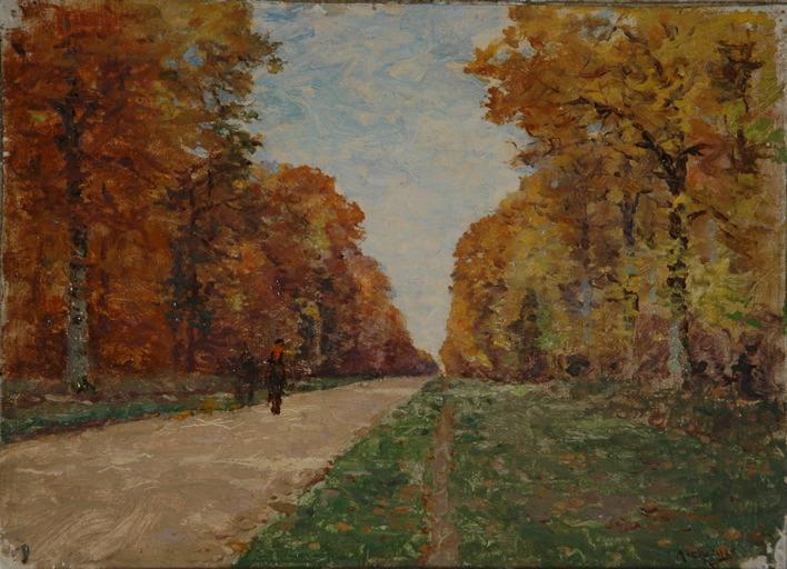Cavalier en automne_0