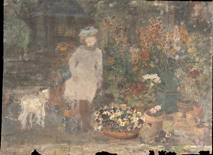 Petite fille aux fleurs_0