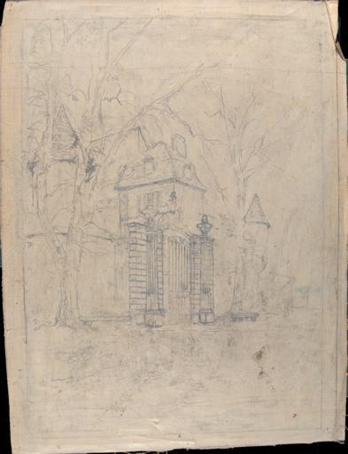 Grille d'entrée du château de Gatellier_0