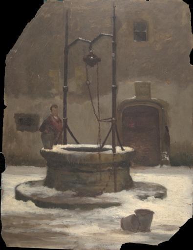 Le puits de la cour du Prieuré à Charlieu