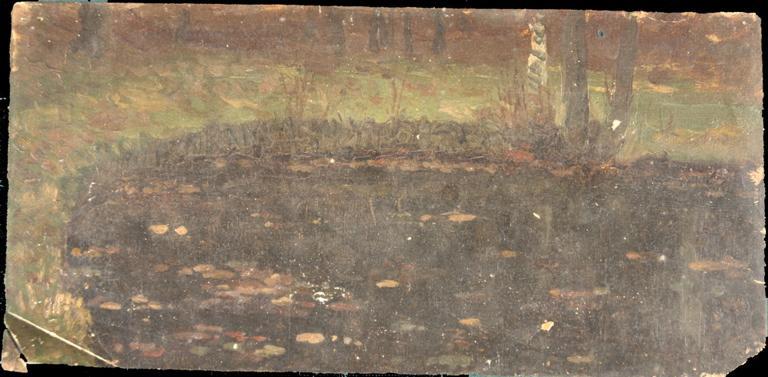 Mare en automne