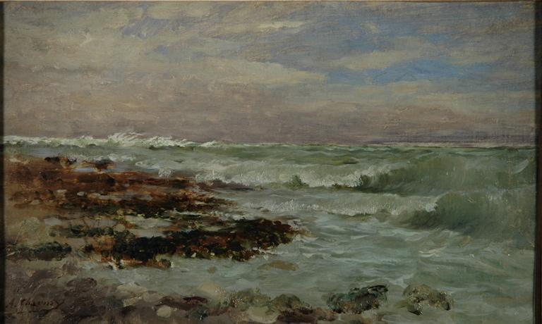 Le grand vent, tempête, Yport_0