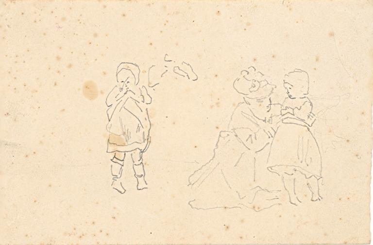 Etude de personnages (recto, verso)_0