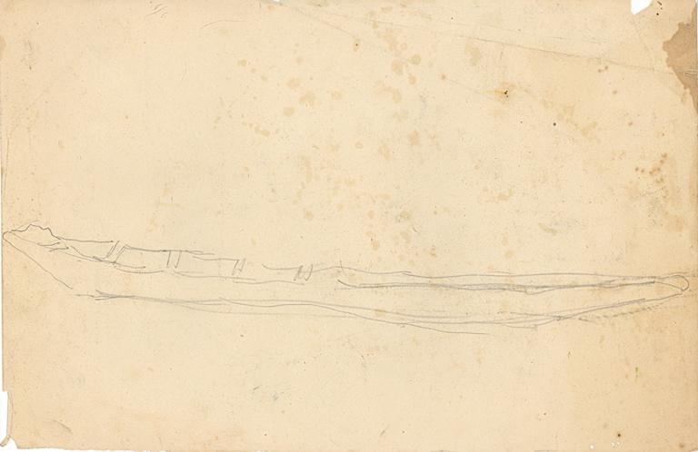 Etudes de barque (recto, verso)_0