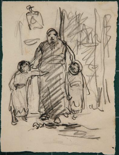 Un adulte et deux enfants