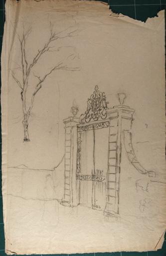 Etude portail de château_0