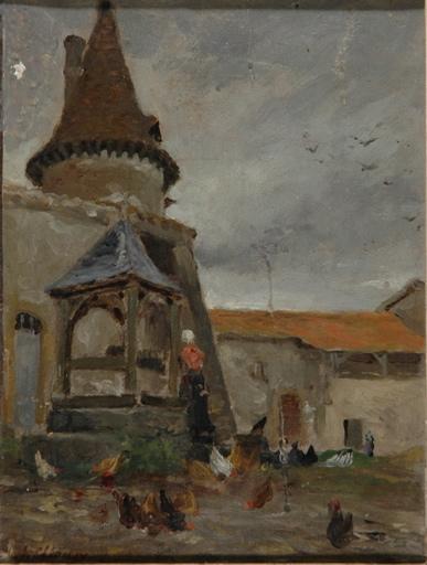 Le pigeonnier du château de Lassale_0