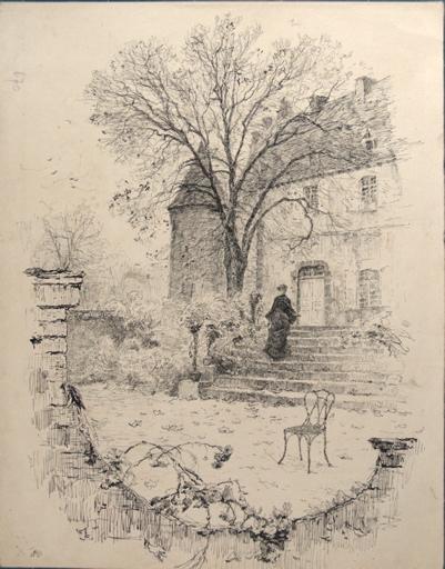 Terrasse de château_0