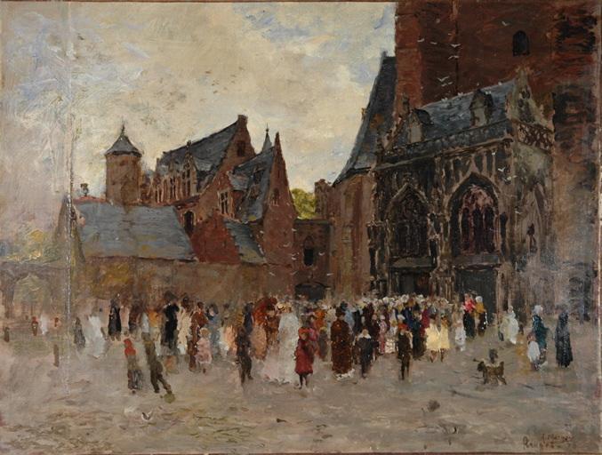 Sortie de messe - Bruges_0
