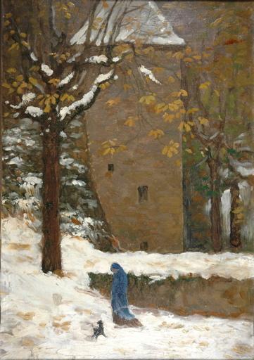 Parc sous la neige_0
