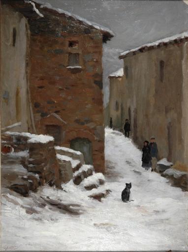 La neige à Saint Maurice sur Loire_0