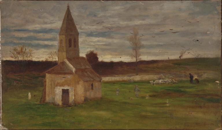 Vieille chapelle abandonnée à Châteauneuf_0