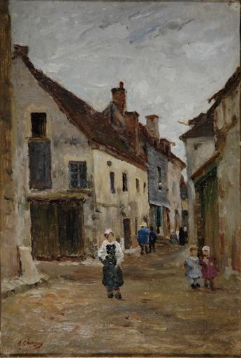 Une rue à Châteaurenard - Loiret_0
