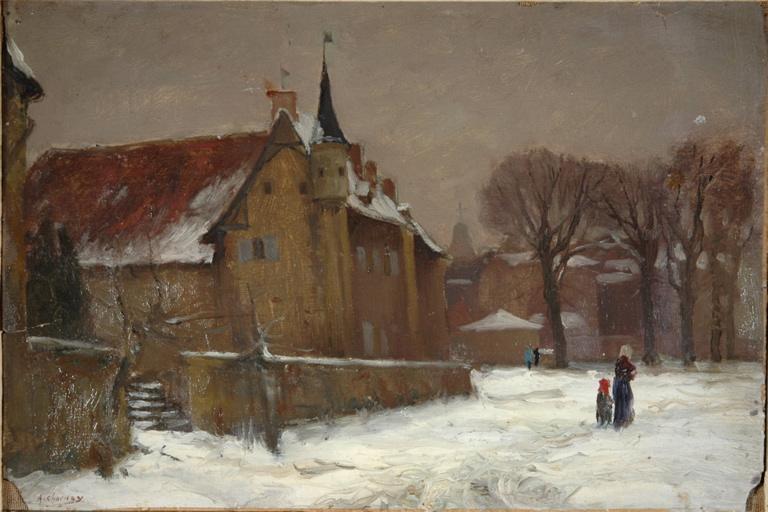 Le prieuré à Charlieu