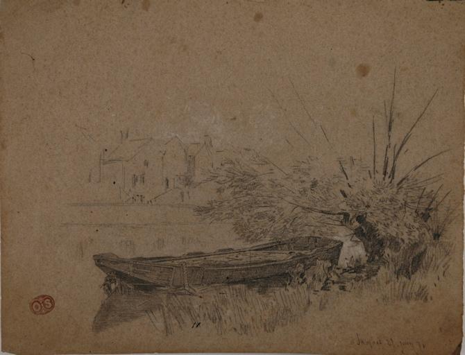 Barque amarrée_0
