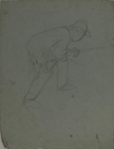 Etude de chasseur (recto, verso)