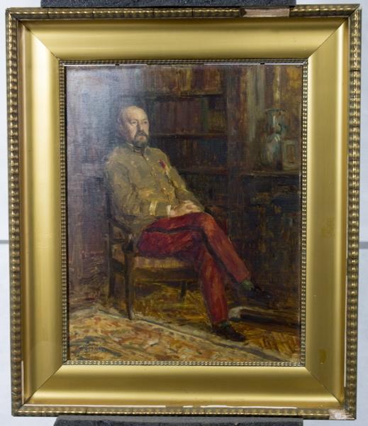 COCHET Gérard Paul (peintre) : Portrait du docteur Etienne Rollet