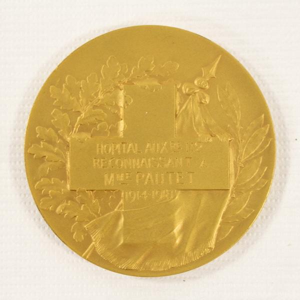 DESCOMPS Joseph Jules Emmanuel, CORMIER (dit) (sculpteur) : médaille commémorative