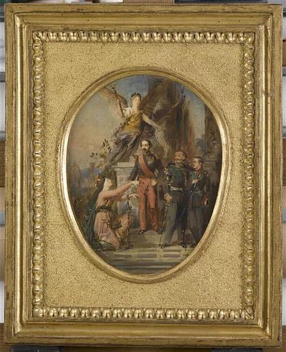 Napoléon III délivrant la ville de Florence de ses chaînes_0