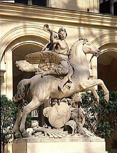 La Renommée à cheval sur Pégase_0
