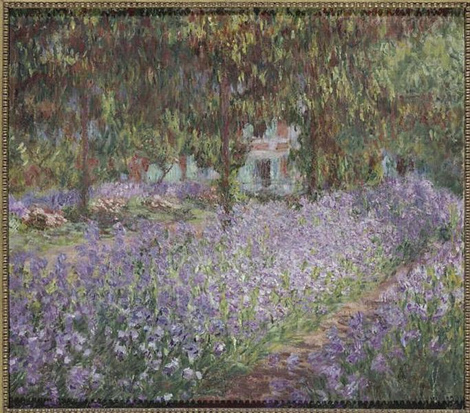 Le jardin de l'artiste à Giverny_0
