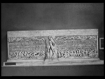 Le mur de Prométhée, projet de décoration murale pour un temple dedié à la grandeur de l'effort humain