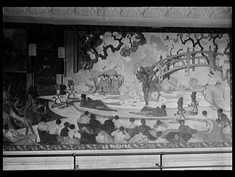 Cour des métiers, le théâtre
