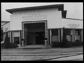 PAVILLON DES ARTISANS FRANCAIS CONTEMPORAINS ET DE  LA REVUE ART ET DECORATION