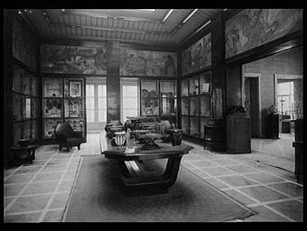 PAVILLON DE NANCY ET DE LA REGION DE L'EST DE LA FRANCE, MUSEE INDUSTRIEL ET COMMERCIAL