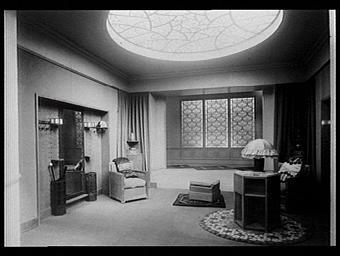 Galeries des écoles d'art de France : vestibule d'un petit hôtel particulier