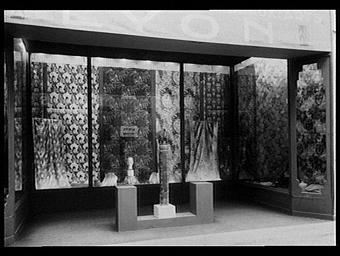 Galeries des écoles d'art de France : salon d'échantillonnage de soierie