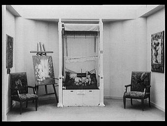 Galerie des écoles d'art de France : meubles en tapisserie d'après les cartons de Gaudissart, Edelmann, Benedictus, etc.