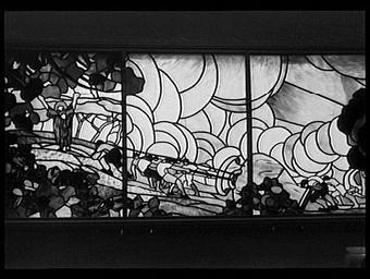 Atelier de vitrail, classe 33