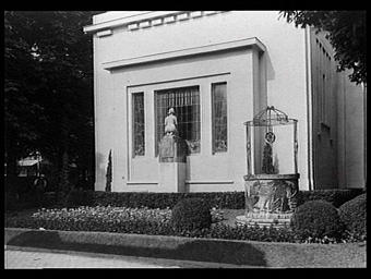 Pavillon de Victor Horta, jardins de Buyssens