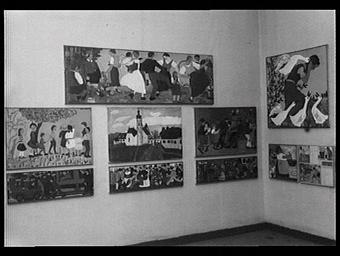 Section de l'Autriche : travaux exécutés par les élèves des écoles