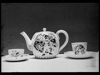 Section de l'U.R.S.S. : porcelaine