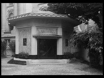 Pavillon de la couture ; sculpture de Jean Martin