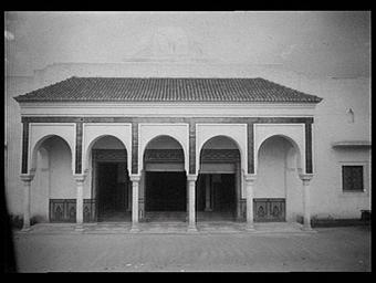 SECTION COLONIALE, PAVILLON DE L'AFRIQUE DU NORD, SECTION DE L'ALGERIE
