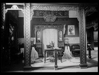 Section coloniale, Section du Tonkin, Pavillon de l'Asie Française et de l'Indochine : stand Bigot