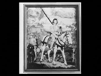 Pavillon des artisans français contemporains et revue Art et décoration, Jeanne d'Arc