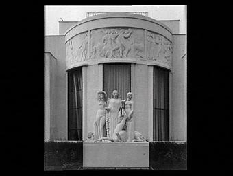 Pavillon du collectionneur Ruhlmann, à la gloire de Jean Goujon
