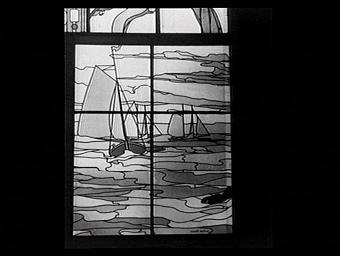 Pavillon des vitraux, le bateau