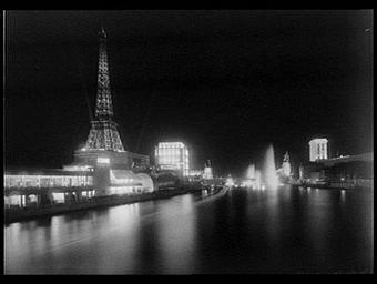 Illuminations depuis la Seine