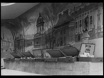 Peinture murale : Les Monuments de Paris