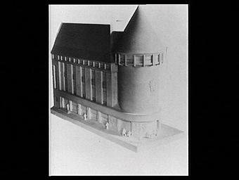 Exposition internationale ; projet ; maquette ; pavillon d'exposition