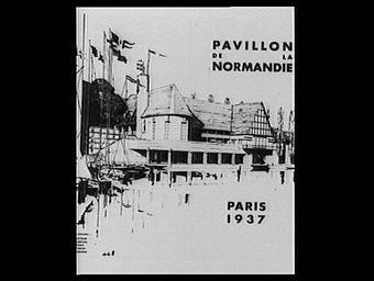 Dessin : Pavillon de la Normandie
